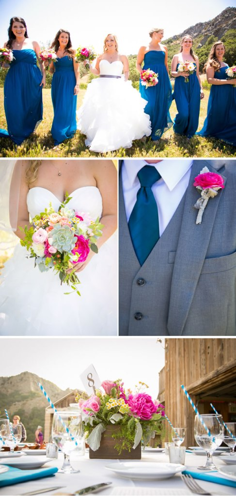 navy-blue-and-pink-california-ranch-wedding